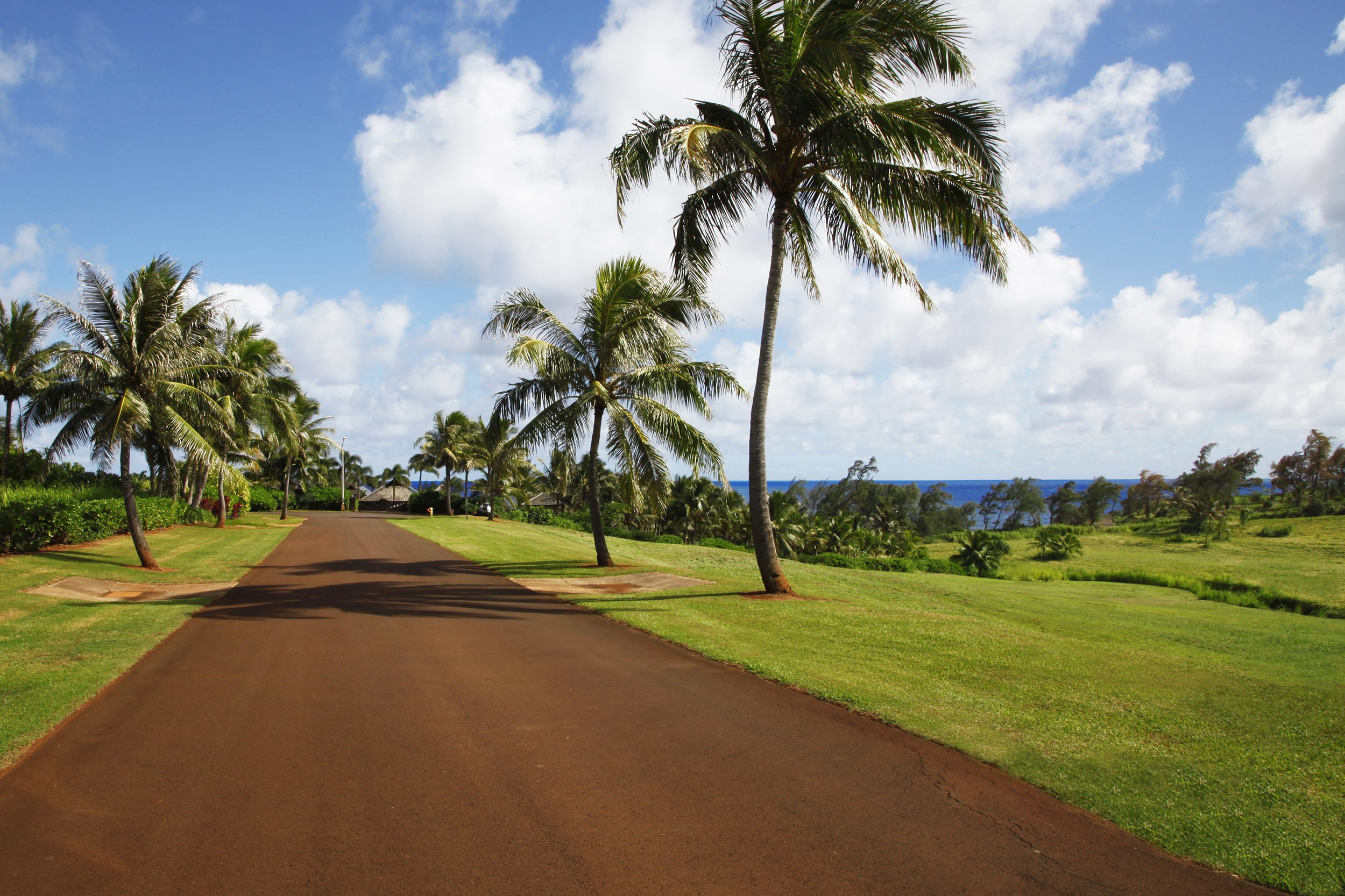 Street view of lot 13-A of Kealia Kai on Kauai - Project Broker is Hannah Sirois