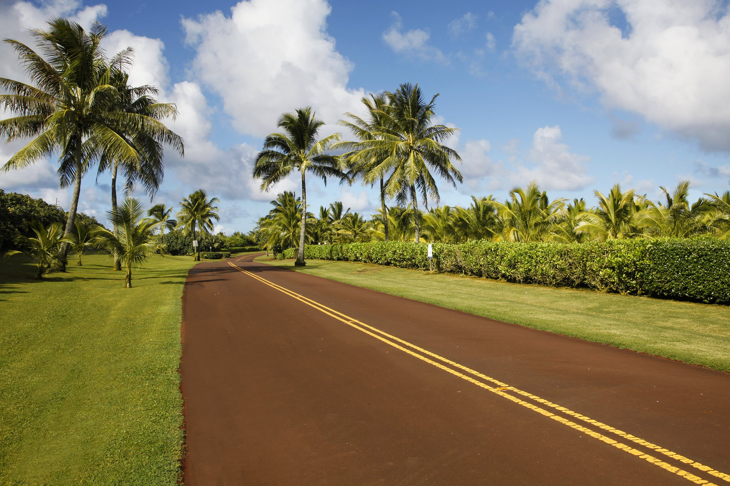 Street view of lot 22 of Kealia Kai on Kauai - Project Broker is Hannah Sirois