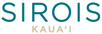 Sirois Kauai logo in teal and gold on behalf of Kauai Realtor Broker, Hannah Sirois